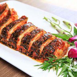 thành phẩm cá chình nướng muối ớt