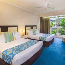 twin room là loại phòng có 2 giường lớn