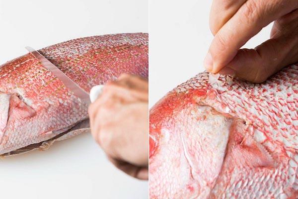cách lọc phi lê cá hồi