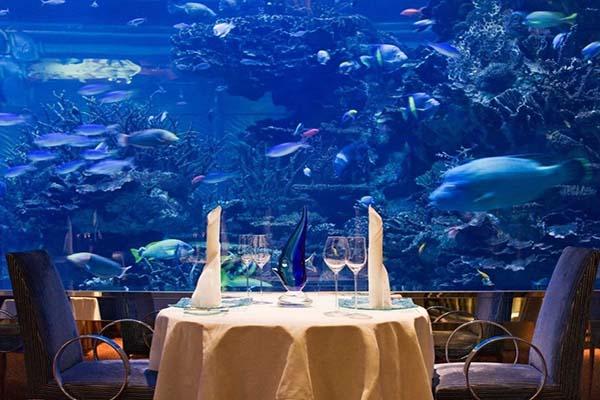 Nhà hàng - khách sạn Al Mahara