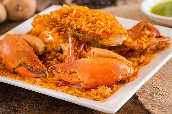 những món ăn được làm từ cua biển