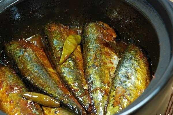 thành phẩm cá bạc má kho tiêu