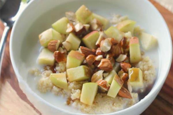cháo quinoa yến mạch