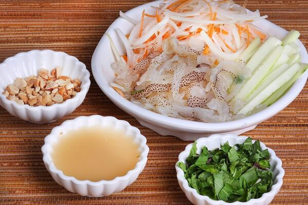 các món ăn ngon từ sứa biển