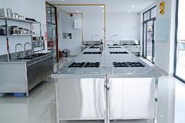 phòng học nấu ăn chuyên nghiệp