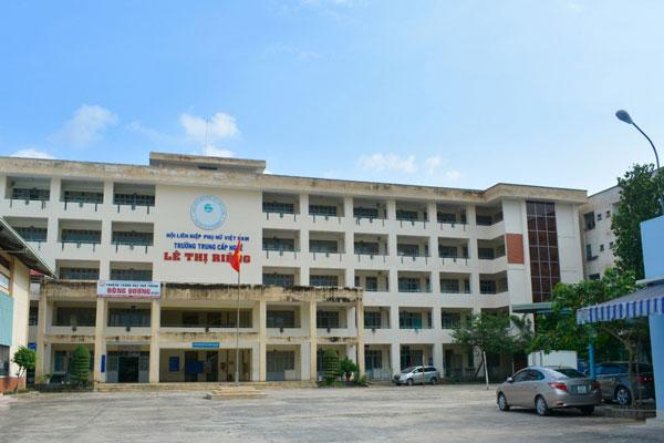 trường trung cấp lê thị riêng tphcm