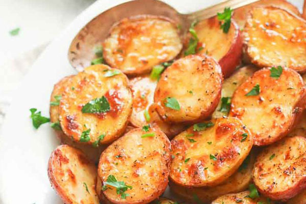 khoai tây nướng bơ tỏi