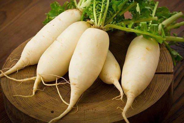 baking so da giúp khử vị đắng của củ cải