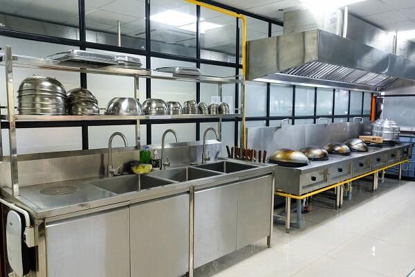 hình ảnh phòng bếp thực hành học bếp á tại CET