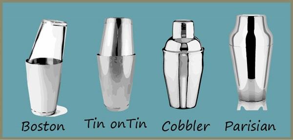 hình ảnh các loại bình shaker