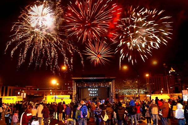 festival first night