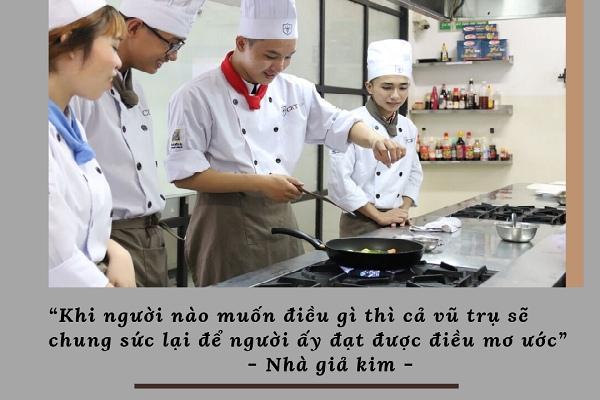 học kỹ thuật nấu ăn tại cet