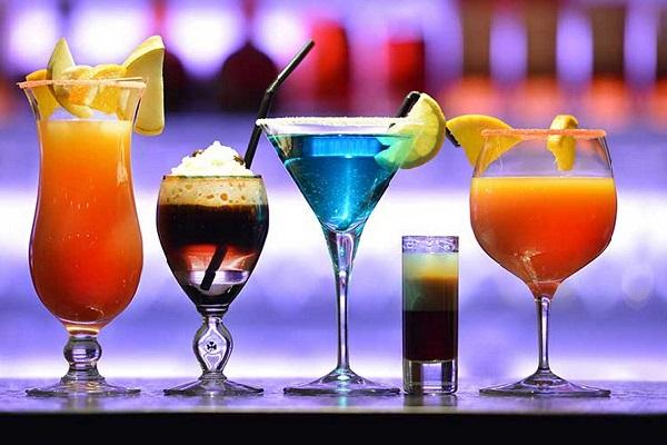 hình ảnh các loại ly trong pha chế cocktail