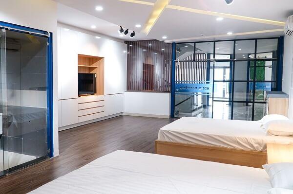 hình ảnh phòng thực hành học nghiệp vụ buồng phòng khách sạn