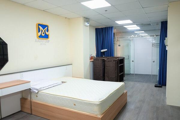 phòng thực hành học nhà hàng khách sạn tiêu chuẩn 5 sao tại CET