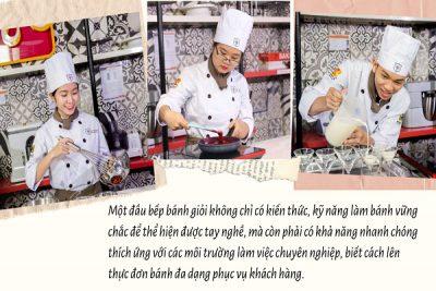 hình ảnh trở thành đầu bếp bánh chuyên ngiệp tại CET