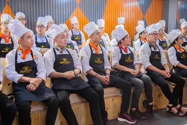 workshop maille chef training