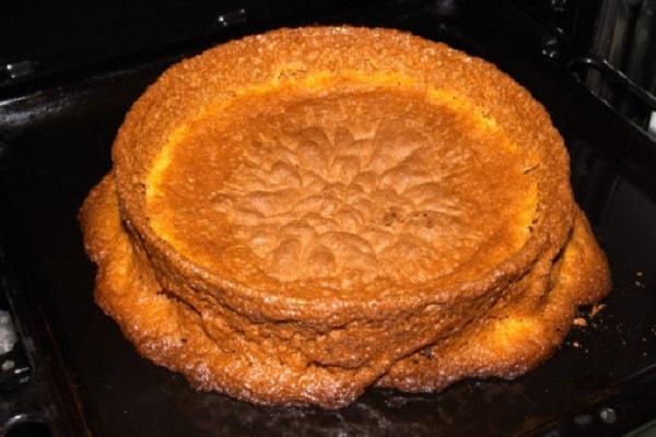 hình ảnh bánh bị lõm