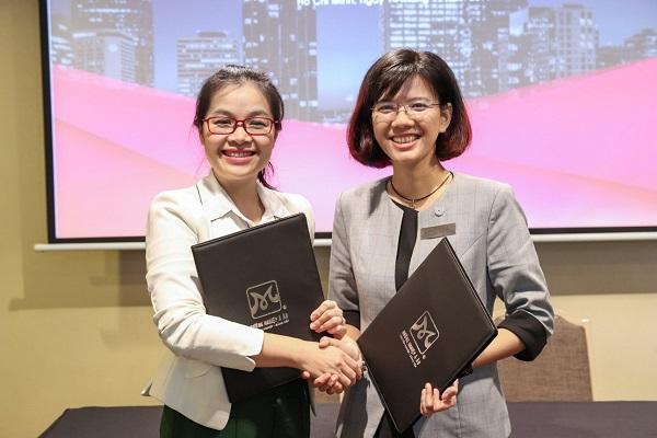 lễ ký kết tạo điều kiện cho sinh viên CET và HNAAu phát triển toàn diện