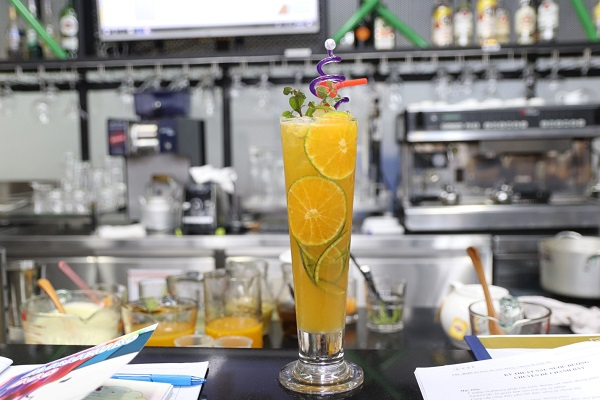 hình ảnh bí kíp giữ mãu tự nhiên cho đồ uống