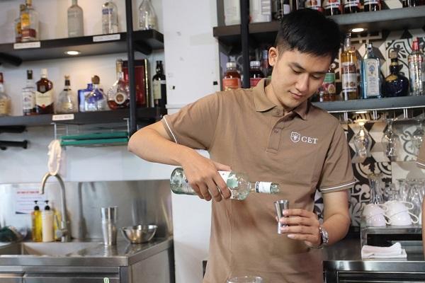 bartender nắm vững các đơn vị đo lường