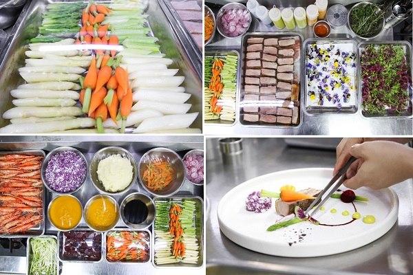 Các nguyên liệu,công cụ dụng trong Food Art Plating Sauces
