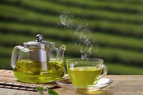 hình ảnh trà xanh thanh lọc cơ thể