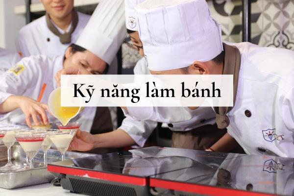 kỹ năng làm bánh