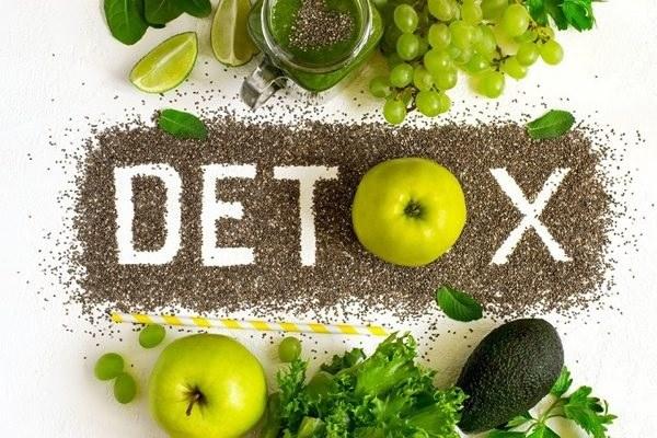 phương pháp giảm cân detox