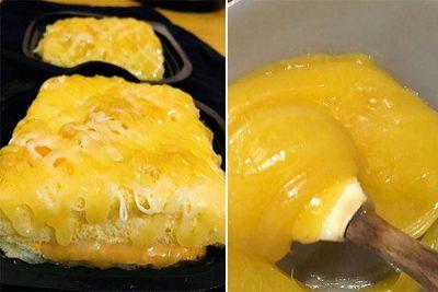 xốt dầu trứng mơ thơm ngon
