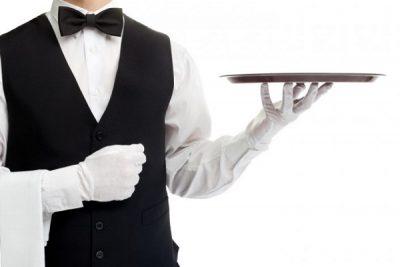 kỹ thuật bưng khai phục vụ nhà hàng